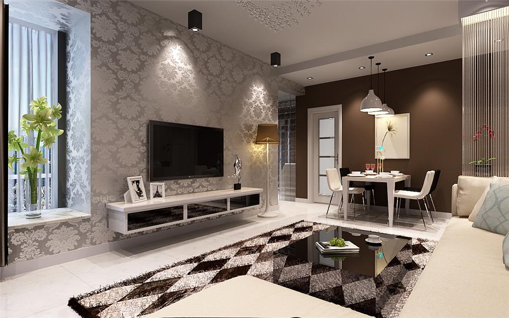 十七款现代简约客厅装修效果图 这样的小户型迷人