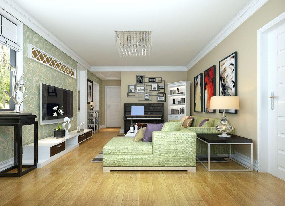 欧美风格室内装�_田园地中海简约欧美风各具特色 七套小户型装修案例