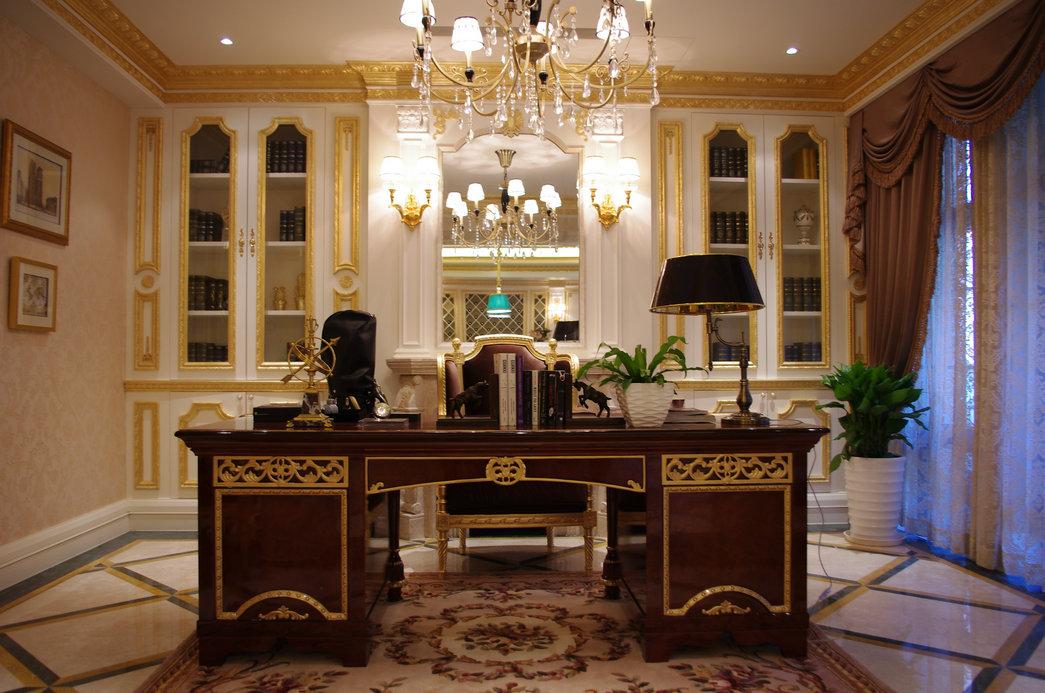 中海九号别墅公馆-法式别墅-宫廷窗户叫外别墅什么框图片