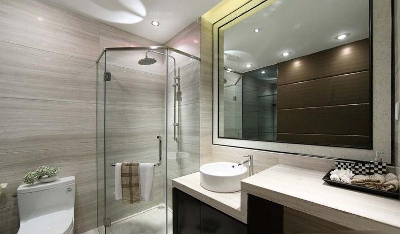 想要把卫生间装修得实用而又美观,首要的问题就是要对这个空间做一个整体的设计。卫生间具有清洗、浴室、厕所三种功能,因此我们要先设计好收纳柜和卫浴用品的位置。将这个有限的空间做一个合理的整体规划,只有做好了整体规划才能做进一步的细节处理。