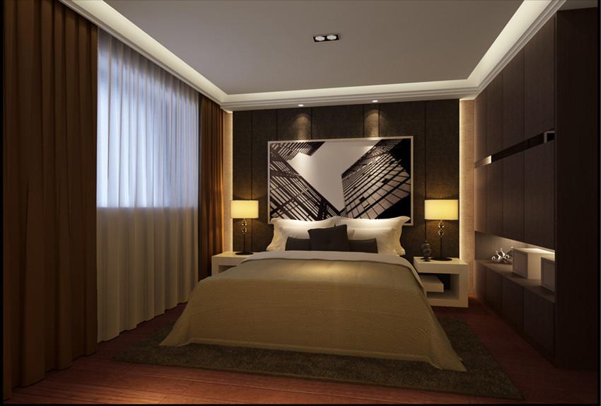 88平米-卧室装修效果图-华远铭悦世家户型解析 九大户型不同风格的设高清图片