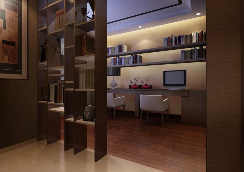 88平米-书房装修效果图-华远铭悦世家户型解析 九大户型不同风格的设高清图片