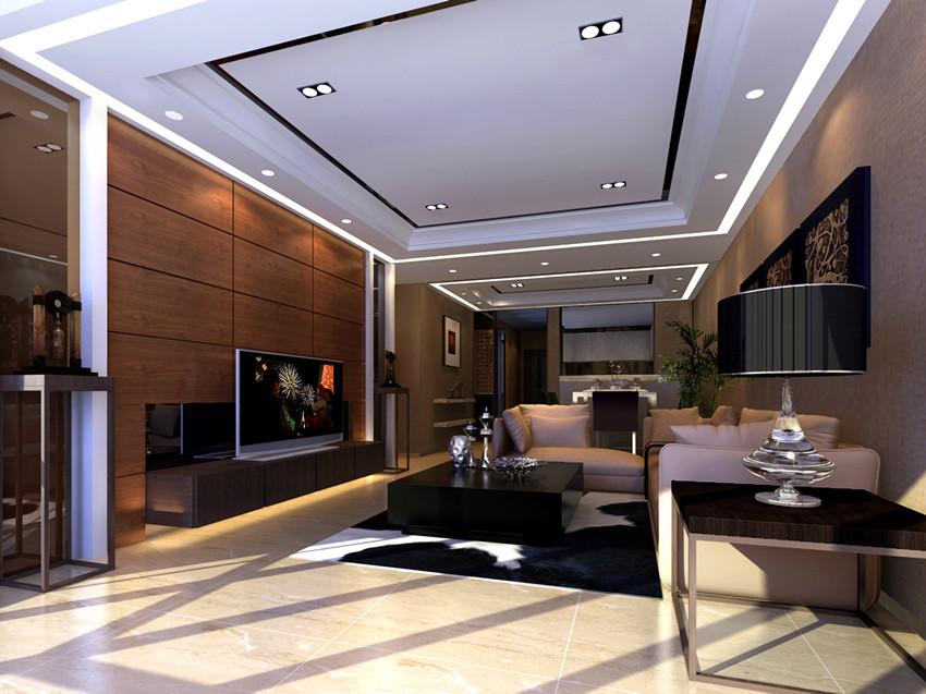 88平米-客厅装修效果图-华远铭悦世家户型解析 九大户型不同风格的设高清图片