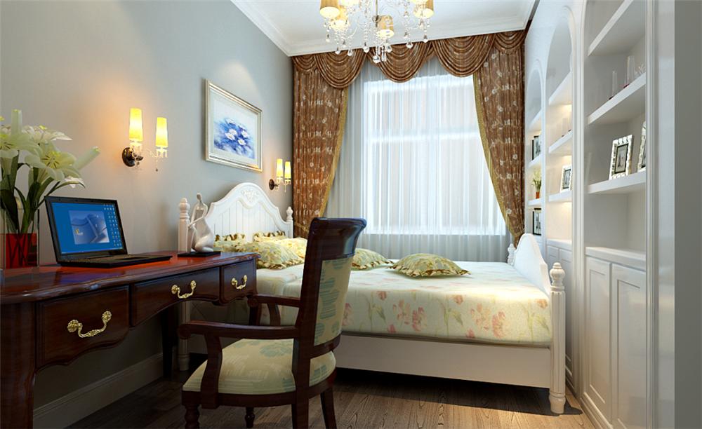 二居室-80.00平米-卧室装修效果图图片