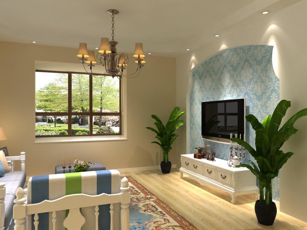 普吉新区-三居室-91.00平米-装修设计