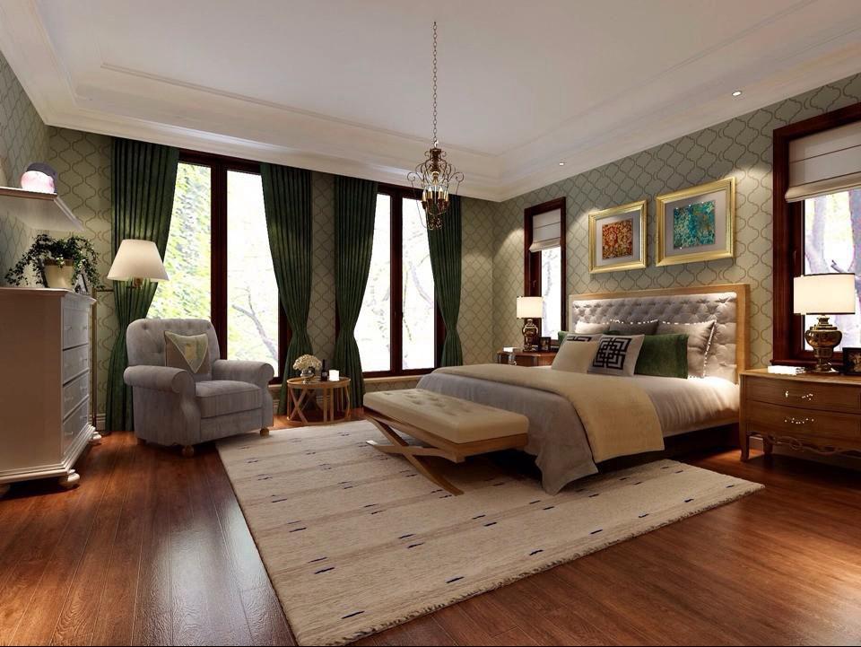 北欧风格户型装修效果设计图 解密800平米豪宅装修图片