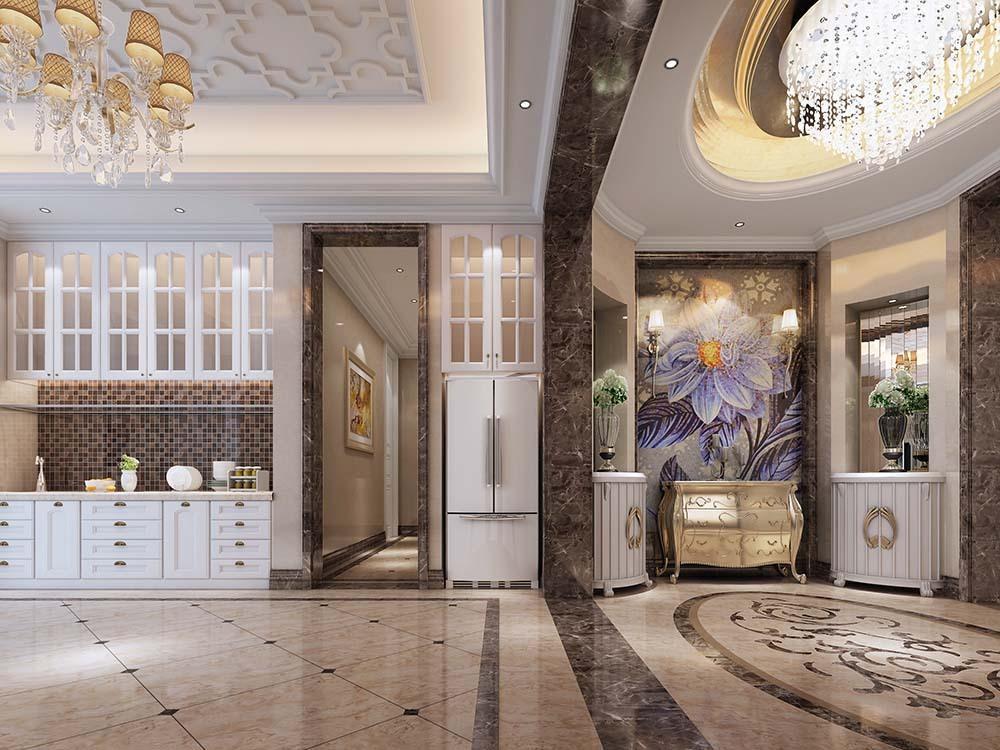 富力合肥湖400平米欧式别墅价格装修设计别墅暴跌津门绿城风格图片
