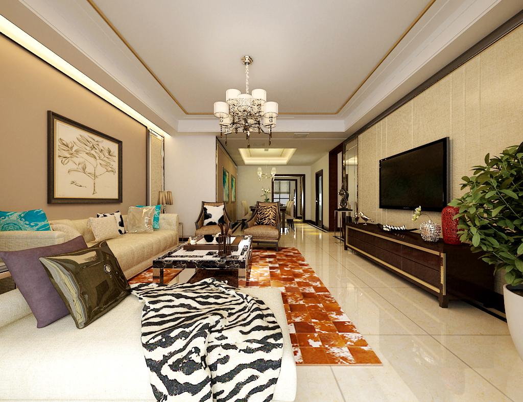 铂悦山-四居室-155�O-装修设计