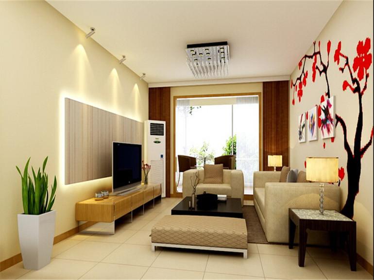 小区:紫金新干线 业主需求:简单的年轻人的家庭配饰要求,不要过多复杂造型,实用好打理。 设计理念: 此方案为简约风格,这是一套现代感十足的空间,起居室运用雅致的色彩表现时尚格调,踏入入户门,空间中融合餐厅客厅 ,视觉上开阔明朗,扩大了空间的纵深感,设计师巧妙的运用家具划分出空间的功能分区,厨房门改为推拉门,增强厨房的采光,使得厨房和餐厅和客厅,光线明朗,相互呼应.