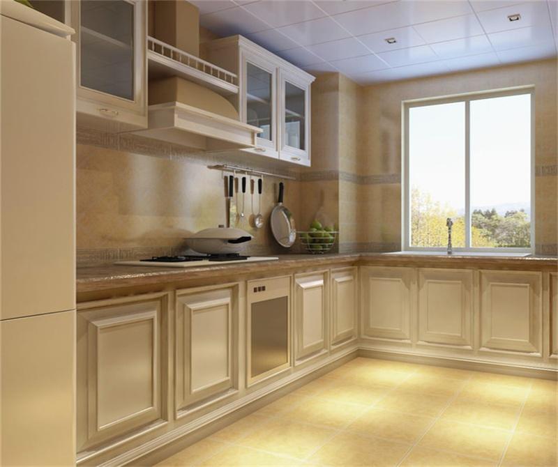富力新城-二居室-76.00平米-厨房装修效果图