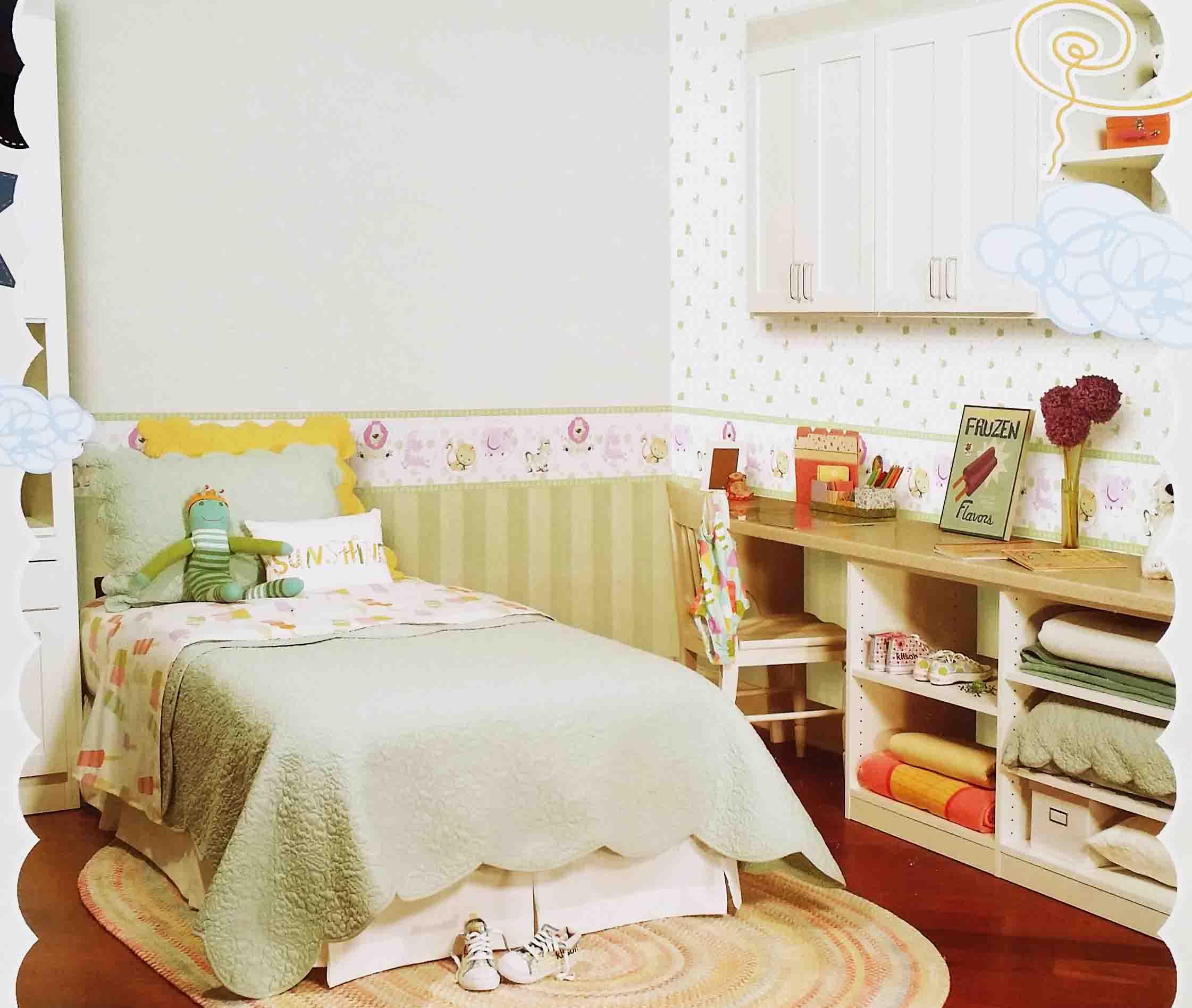 儿童房墙纸