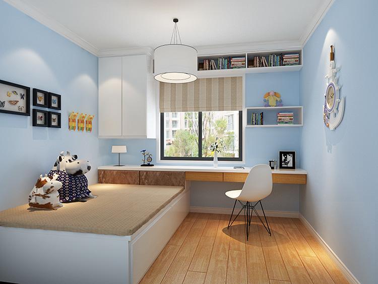 正商金域世家b2户型88平方简欧风格装修案例