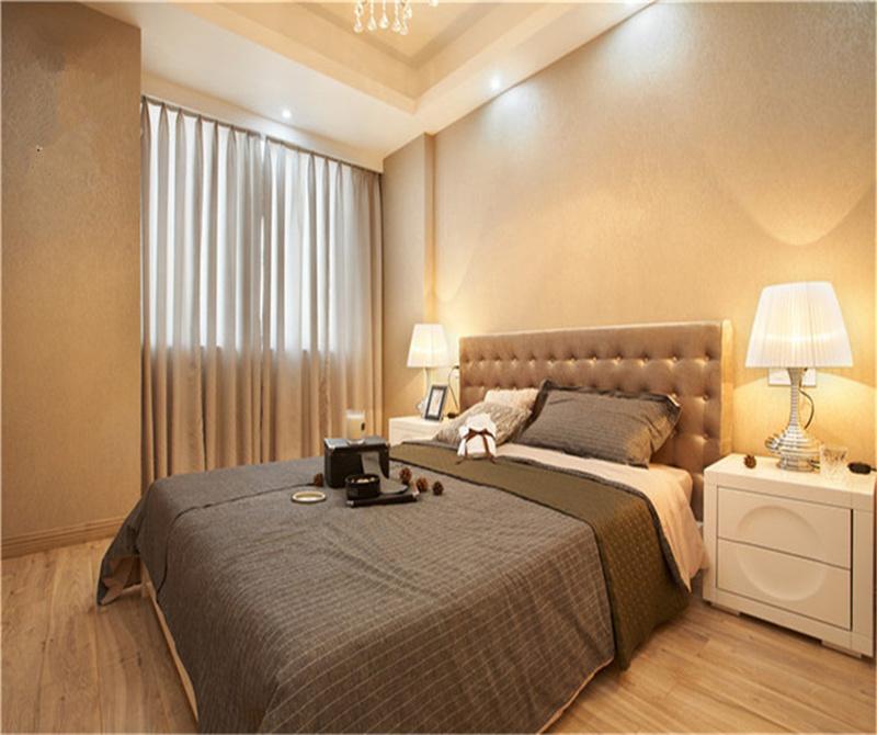 公园1号现代简约风格90平米三居室装修案例赏析高清图片