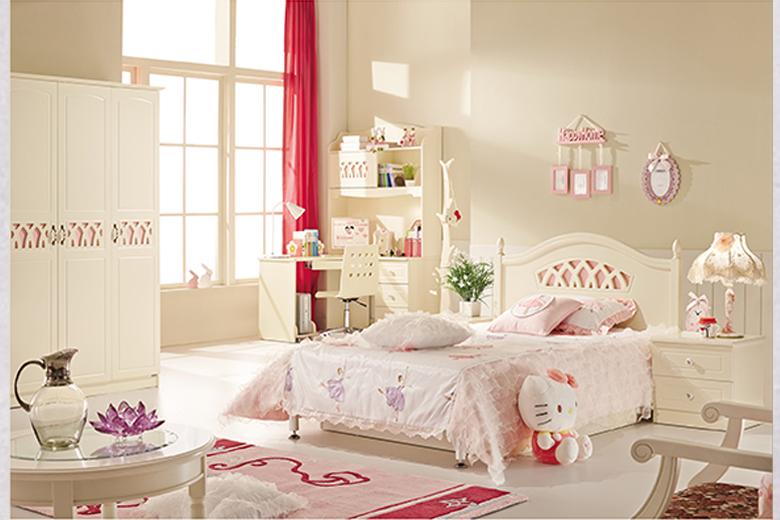 东明家居 可爱多 儿童卧房四件套
