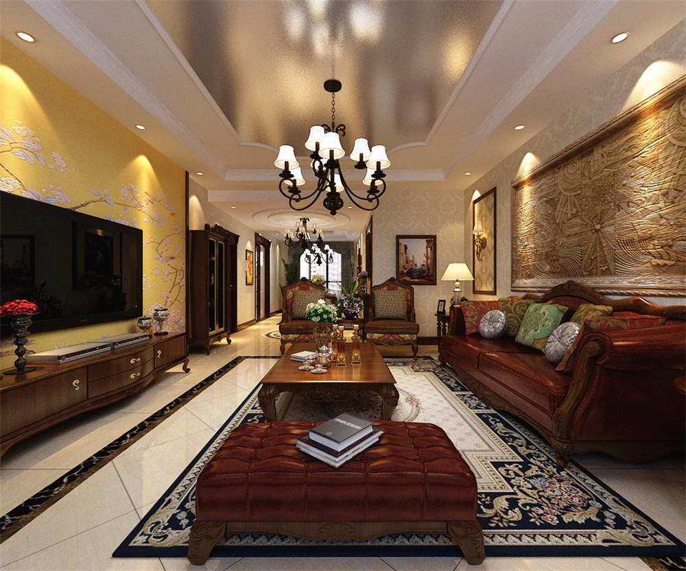 178平米的欧美风情风格,原来三居室还可以这样装修!-融创王府壹号装修