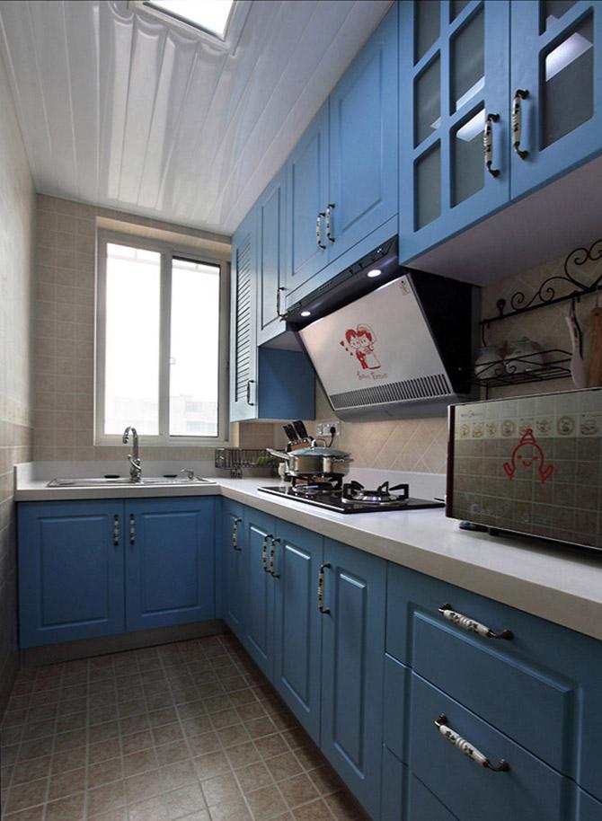 00平米-厨房装修效果图
