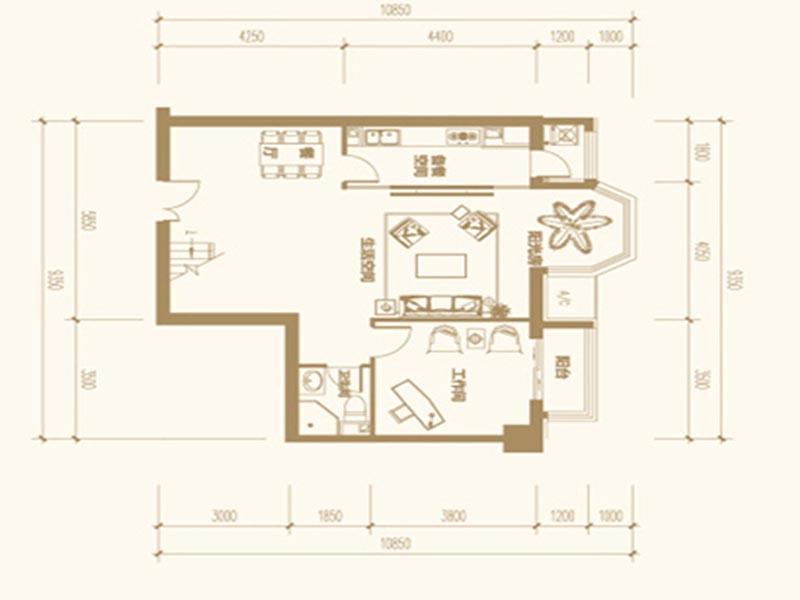 【长沙】家装设计 :5套100平米房子装修效果图 超漂亮