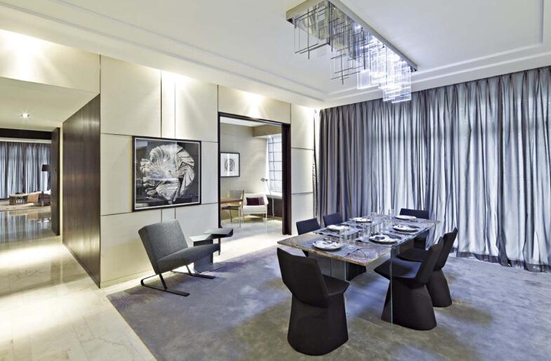 6万全包95㎡三居小户型 新中式风格装修出禅意空间