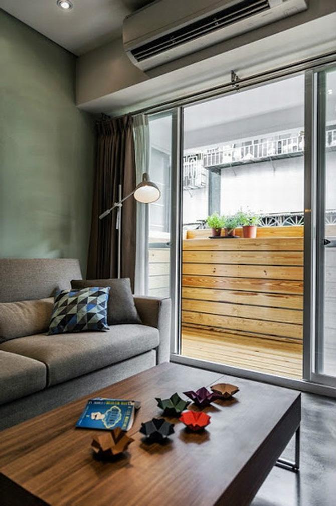 品公寓 6万小两房装修效果图欣赏高清图片