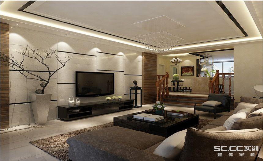 黑白为基调的空间内既有木色的栏杆扶手,还有稳重的檀木挂板装饰,将整个空间做出一个安静舒适的时代缩影