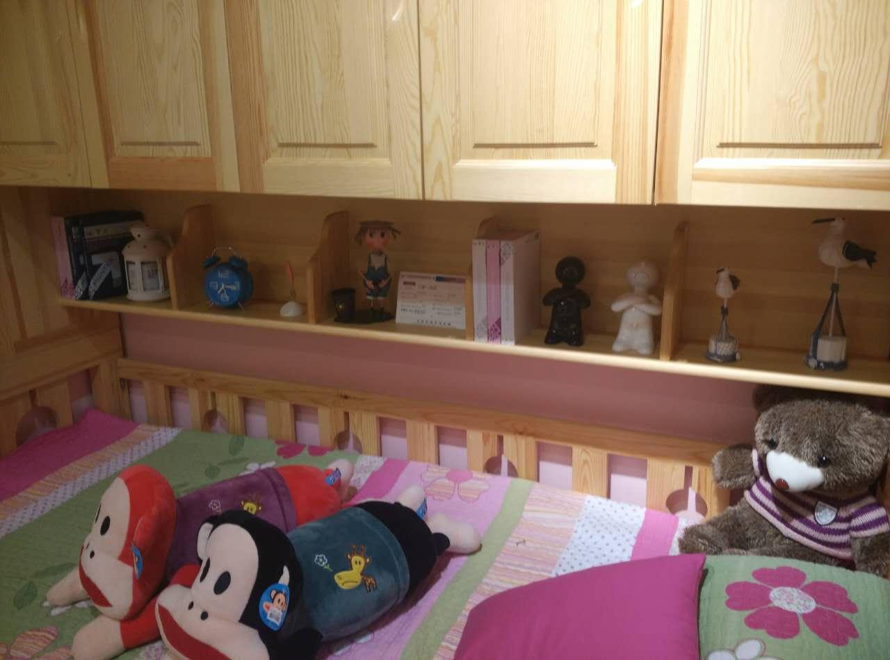阳光芭比诺书架一体床,可爱多儿童床*【报价 价格  】