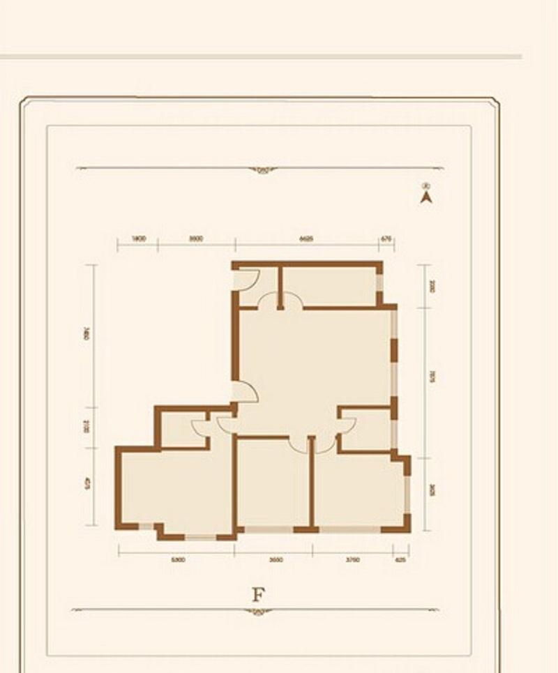 京投银泰万科西华府-三居室-150.00平米-装修设计