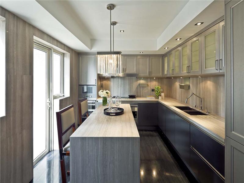 三居室-110.00平米-厨房装修效果图-5套超高性价比三居小户型装修