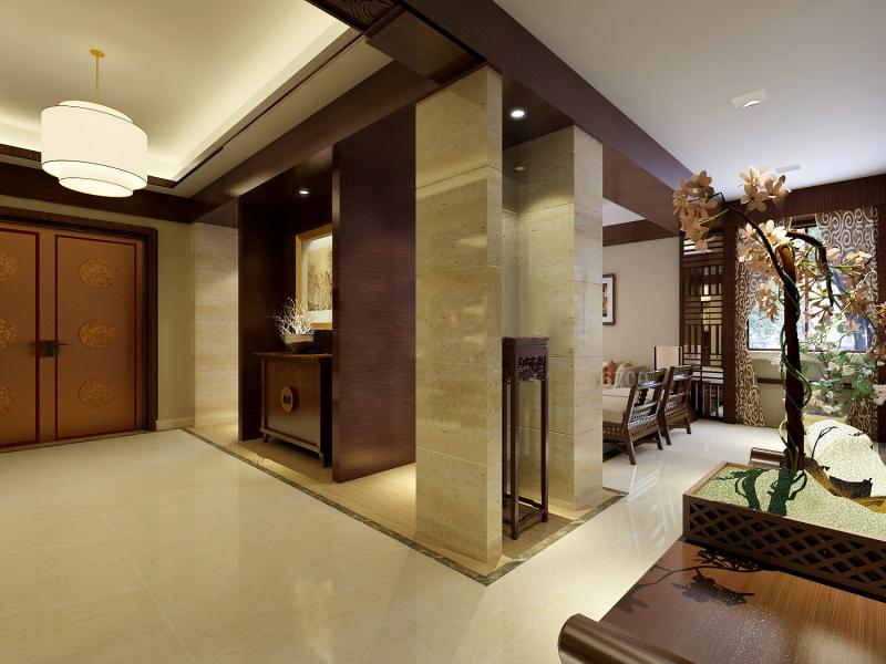 中国铁建广场-四居室-210.00平米-装修设计