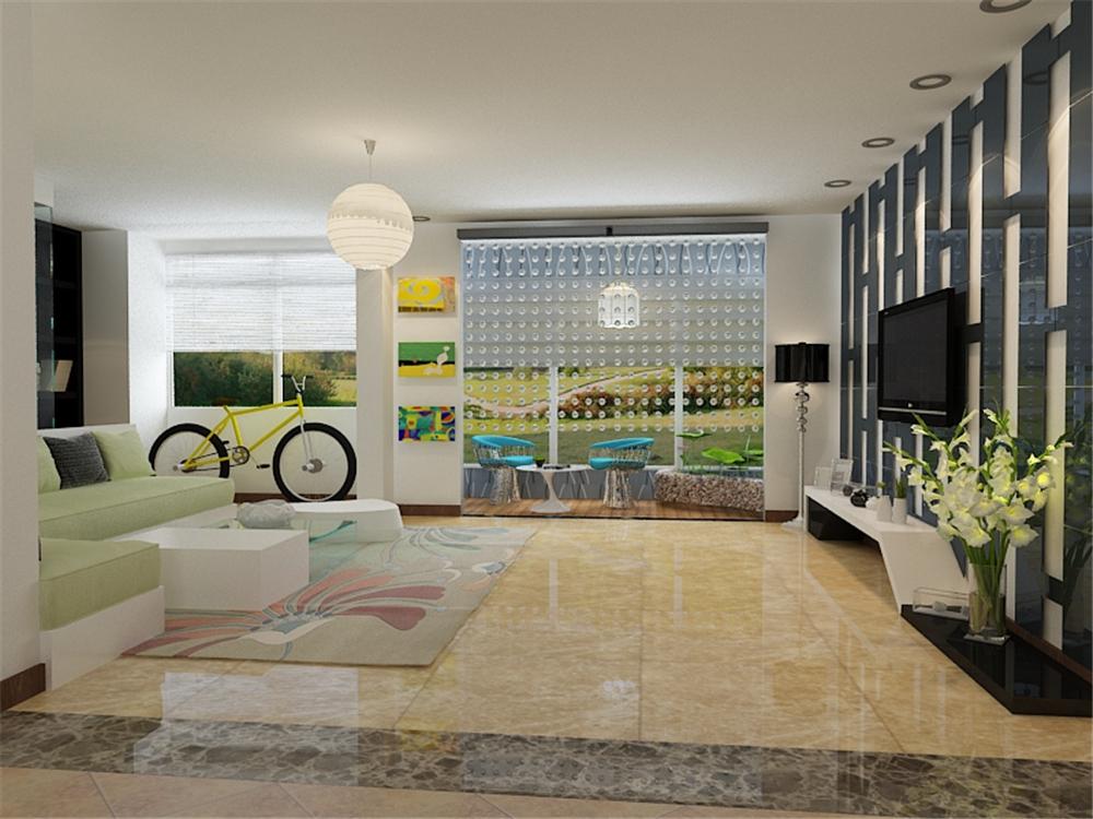 120平米三居室热门案例 现代简约半包4万!-保利香颂湖装修