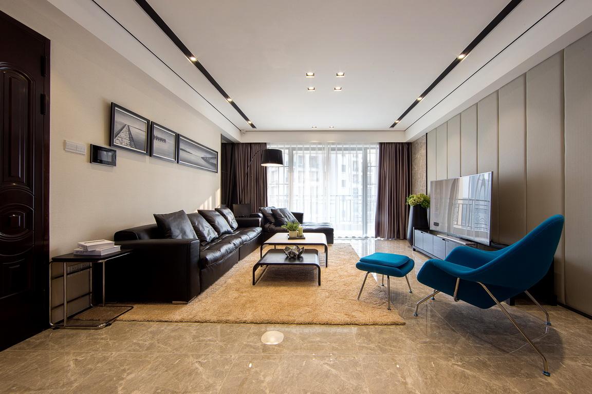轻奢的优雅 120平现代风二居室