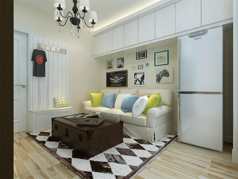 55平米的房子这样装修面积大了1倍,装修只花1万元!-溪秀苑装修
