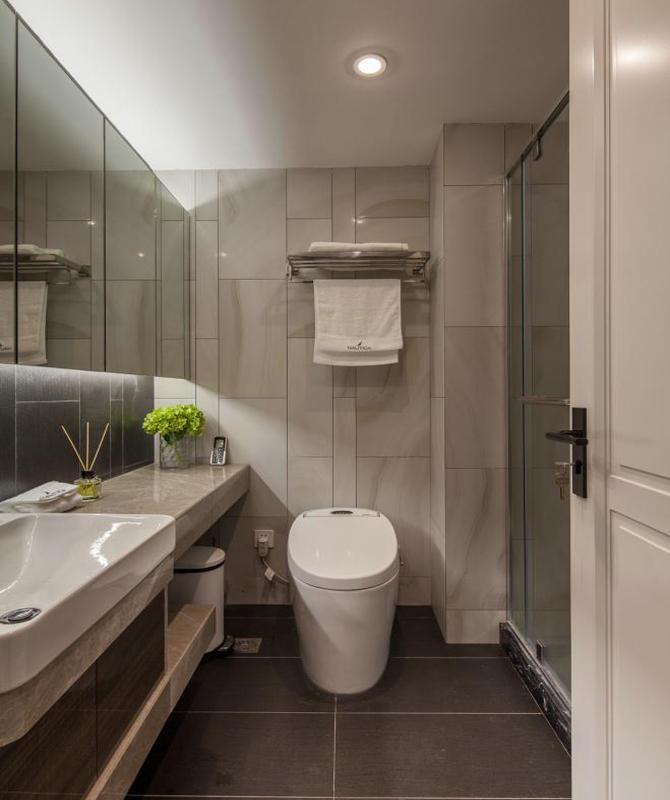民安小区-二居室-64.00平米-卫生间装修效果图高清图片