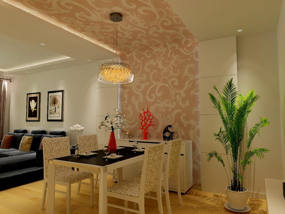 金顶阳光-二居室-88.00平米-餐厅装修效果图-3套88平刚需户型装修 现高清图片