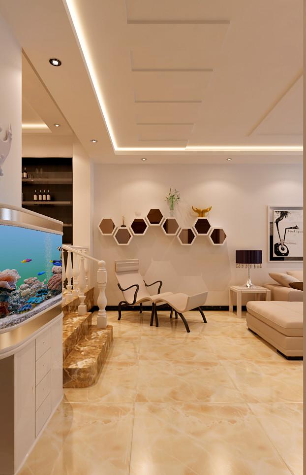 工体南路小区-二居室-80.00平米-客厅装修效果图高清图片