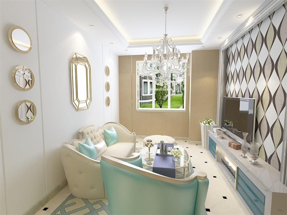 本方案为三室两厅一厨一卫96㎡的简欧风格的设计,沿袭古典欧式风格的主元素融入了现代的设计元素,整体空间不只是豪华大气更多的是惬意和浪漫。从入户门进入玄关地方狭小,厨房门正对着餐桌,用吊顶和沙发背景造型使空间进行合理的划分,餐桌区域做了照片墙的造型,使用餐氛围更加温馨融洽。