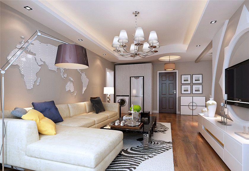 五套主流风格装修案例 三居装修效果图低至4万半包高清图片