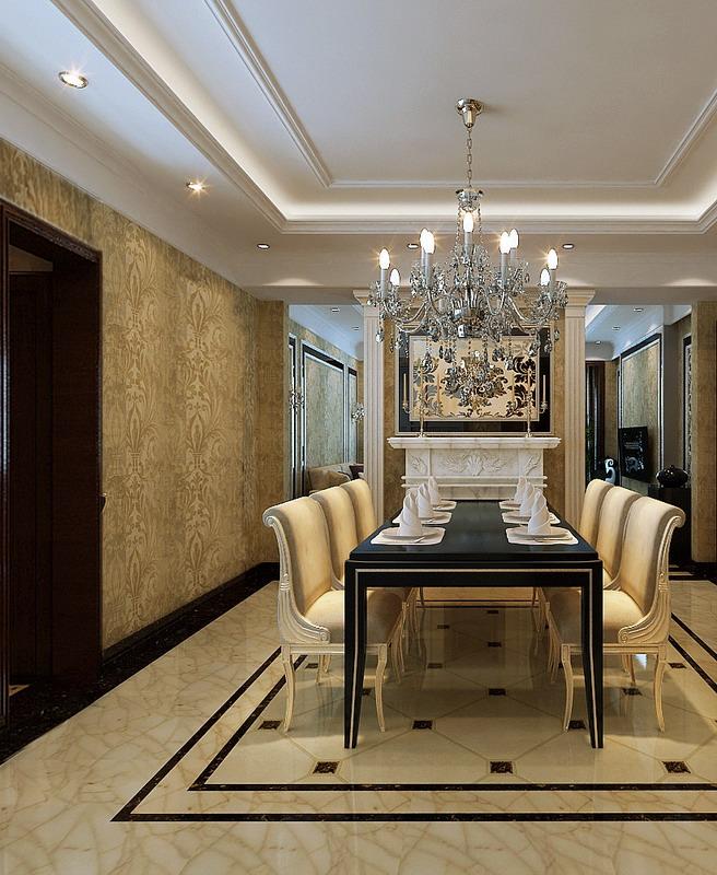 燕郊运河湾-三居室-140.00平米-装修设计图片