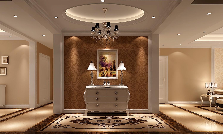 5套高清简欧风装修效果图 走进华美时尚三居室图片