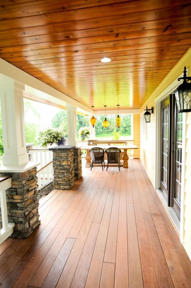 雅致法式风格别墅遮阳台装修设计图片