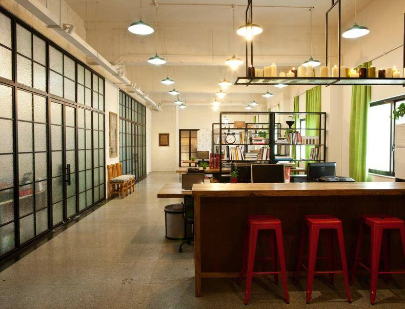 成都别墅装修_2019个人工作室设计图片-房天下装修效果图