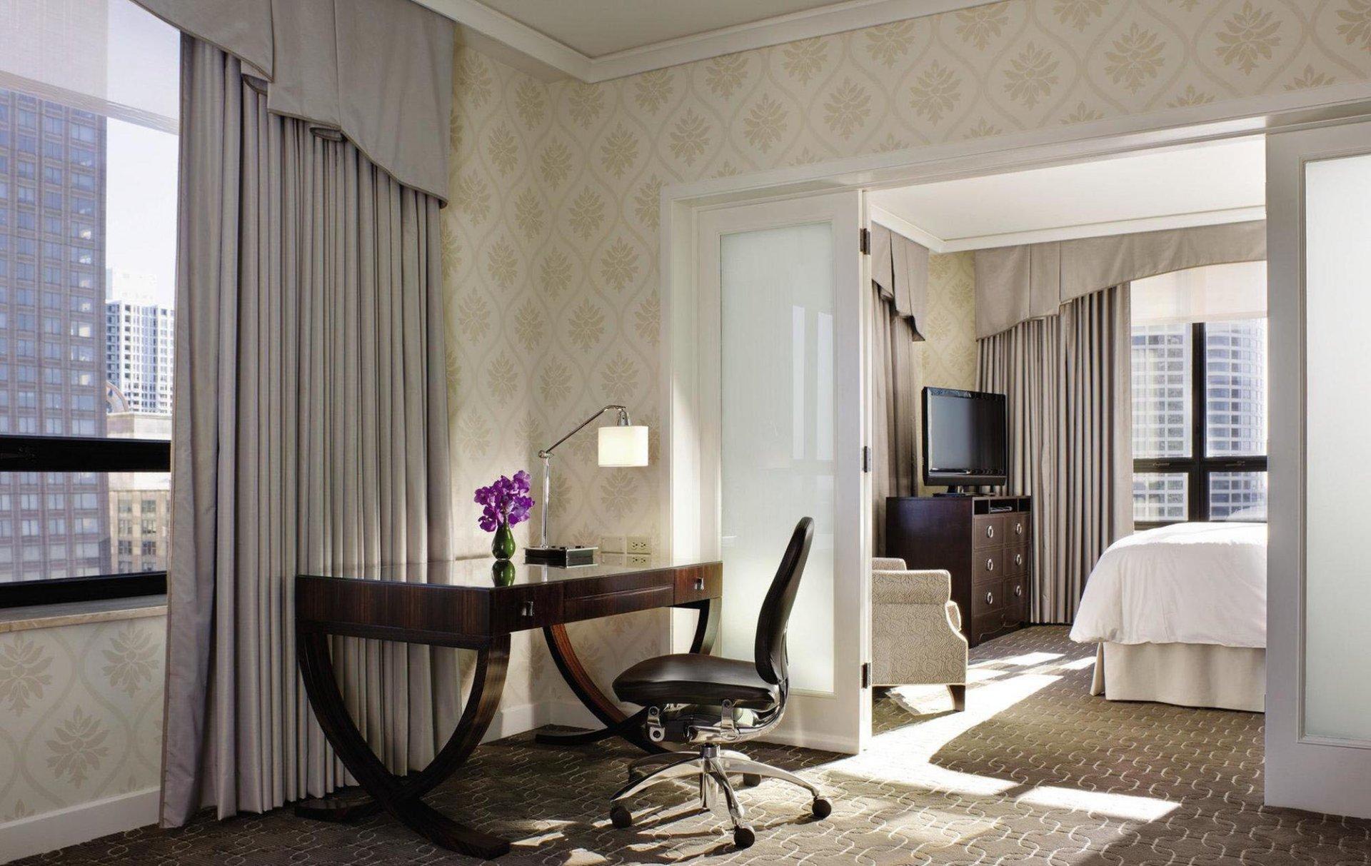 美式酒店房间室内门装修效果图片图片