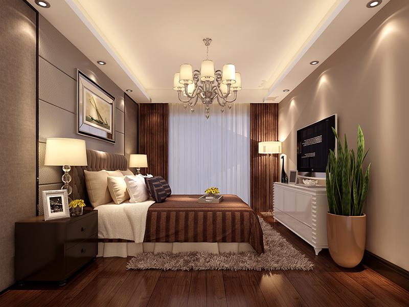 中海国际港-二居室-88.00平米-卧室装修效果图-惊天揭秘 88㎡小户型高清图片