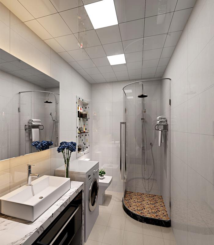 62平小户型新意装修 现代简约一居室装修案例赏析高清图片