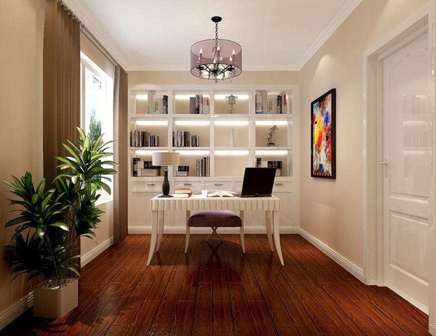 北京华贸城 三居室 141.00平米 装修设计高清图片