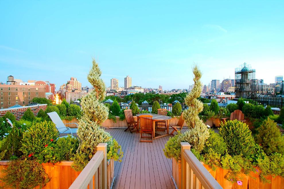 屋顶花园装修 屋顶花园装修效果图 房天下装修专区