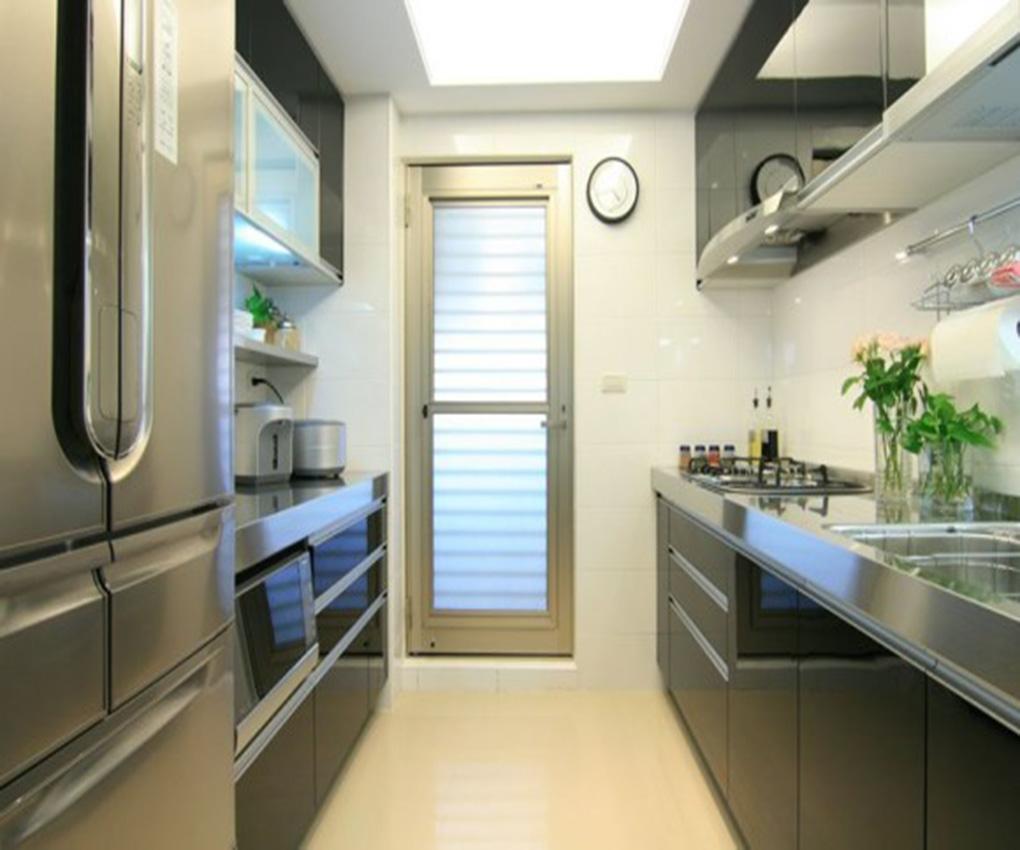 景园-二居室-88.00平米-厨房装修效果图-小户型简约风设计速成手册 高清图片