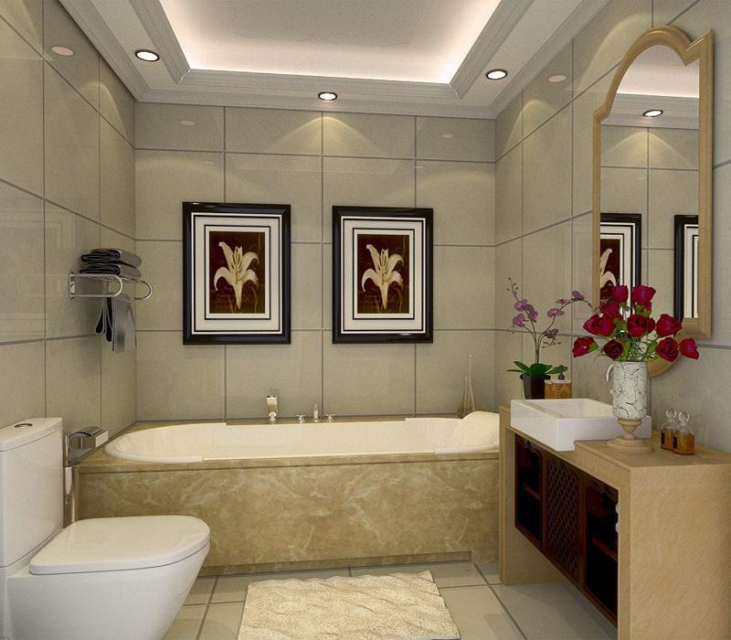 北京华贸城-三居室-210.00平米-装修设计