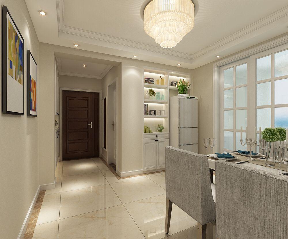 瑞城三室两厅135平米户型现代风格装修效果图