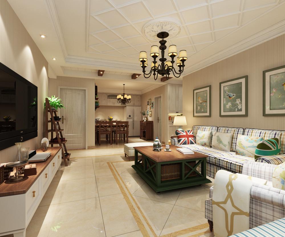 客厅整体装修设计效果展示