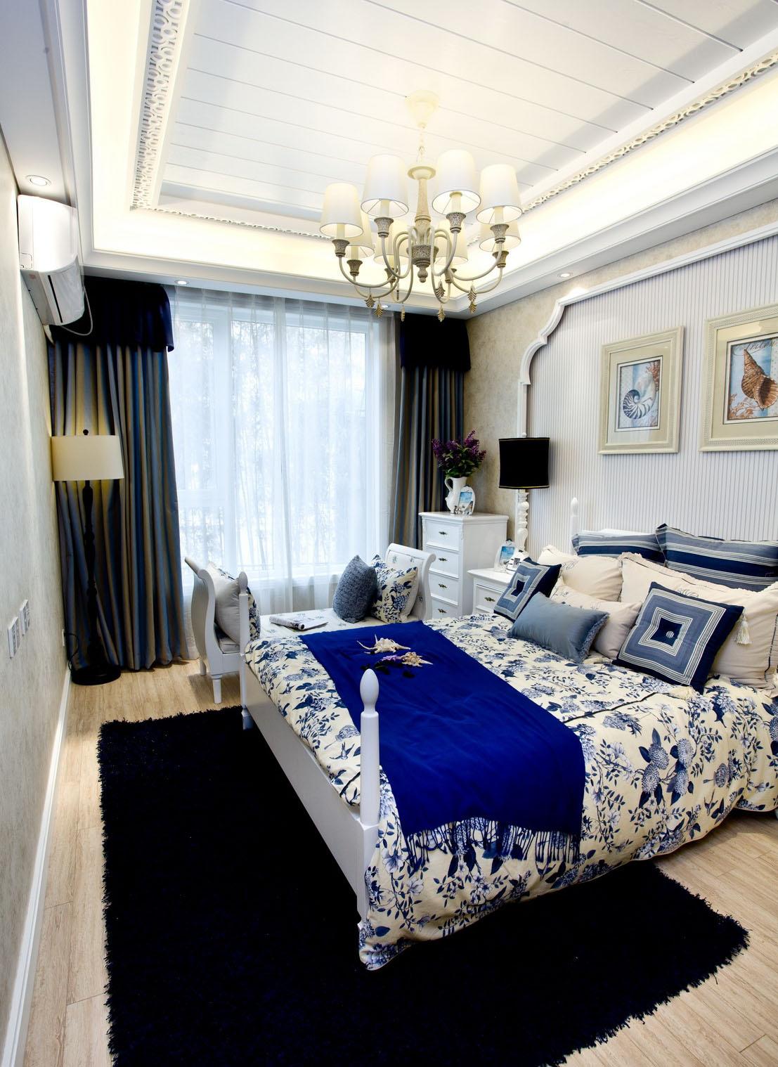 蓝天碧海下的家地中海风三居a蓝天v蓝天和的区分iuui教学设计图片